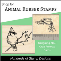 Animal Rubber Stamp