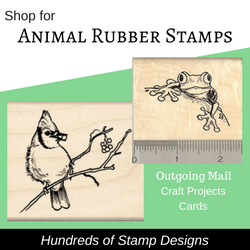Animal Rubber Stamps