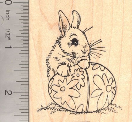 Easter Bunny Rubber Stamps Easter Bunny Rubber Stamp